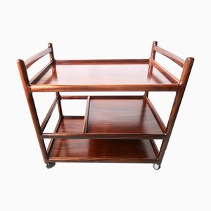 Mid-Century Rosewood Trolley by Johannes Andersen for CFC Silkeborg, 1960s