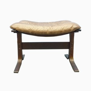 Scandinavian Footstool by Ingmar Relling for Westnofa, 1970s