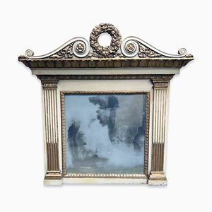 Antique Lacquered Mirror from Camino Laccata