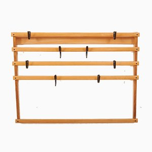 Vintage Wall Coat Rack by Carl Auböck for Werkstätte Carl Auböck, 1940s