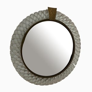 Italian Mirror by Carlo Scarpa for Venini, 1950s
