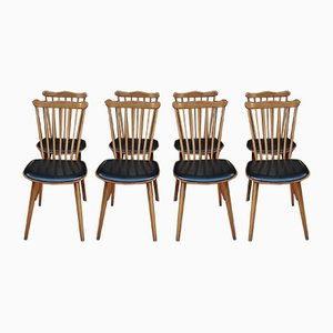 Vintage French Bar Chairs from Baumann, 1960s, Set of 8