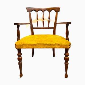 Vintage Nussholz Sessel
