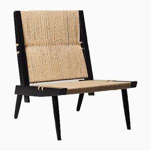 Palisander Grass Chair von George Nakashima für NID, 1968