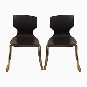 Dining Chairs by Adam Stegner for Flötotto, 1970s, Set of 13