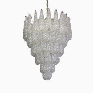 Vintage Italian Murano Glass Chandelier, 1983