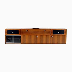 Rosewood Floating Sideboard by Alfred Hendrickx, 1950s