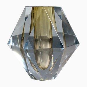 Model Diamant Crystal Vase by Asta Strömberg for Strömbergshyttan, 1950s