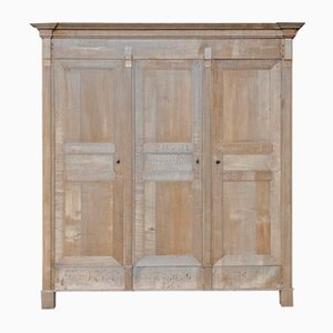 French Period Directoire Oak Armoire, 1830s