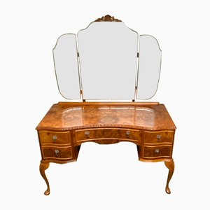 Burr Walnut Dressing Table, 1920s