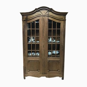 French Oak Bookcase or Cabinet, 1850s
