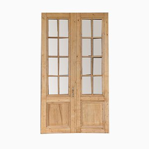 French Chateau Doors, 1840s, Set of 2