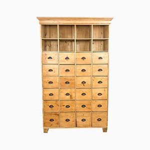 Large Vintage Pinewood Chest of Drawers