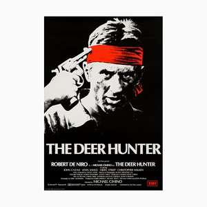 The Deer Hunter Filmposter von Fred Atkins, 1970er