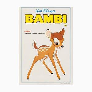 Affiche Bambi par Bernard Lancy, 1980s