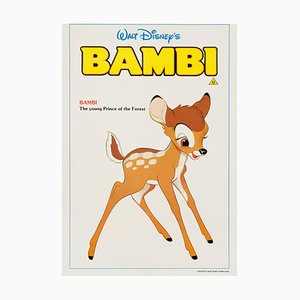 Bambi Film Poster by Bernard Lancy, 1980s
