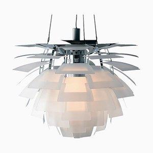 Lampe à Suspension PH Mid-Century Moderne Scandinave en Verre par Poul Henningsen pour Louis Poulsen