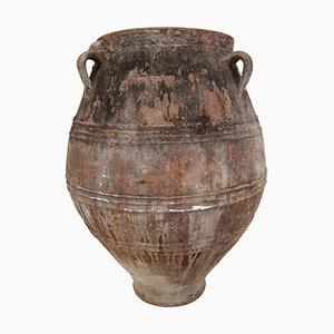 Vaso grande in terracotta, Grecia, XIX secolo