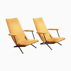 Lehnsessel und Sessel, Deutschland, 1950er, 2er Set