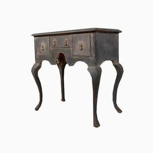 Small 18th Century English Painted Side Table