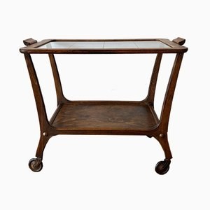 Serving Bar Trolley in Wood, 1950s
