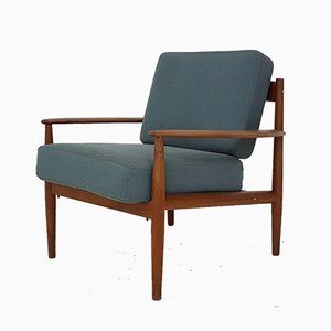 Model 118 Lounge Chair by Grete Jalk for France & Son, Denmark, 1960s