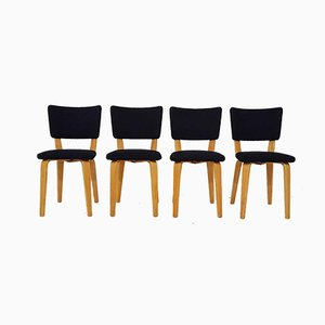 Dining Chairs by Cor Alons for Gouda den Boer, 1950s, Set of 4