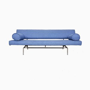 Dutch BR 02.7 Sleeper Sofa with Armrests by Martin Visser for 't Spectrum, 1950s