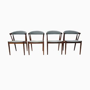 Model BA 113 Rosewood Dining Chairs by Johannes Andersen for Andersens Møbelfabrik, Denmark, 1960s, Set of 4