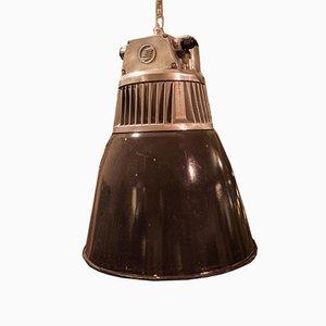Tschechische Polierte Lars Fabriklampe, 1960er