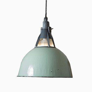 Ukrainian Industrial Arvid Light in Mint Green, 1960s
