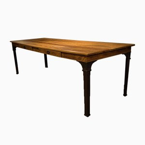 Reichsbahn Dining Table with Drawers, 1920s