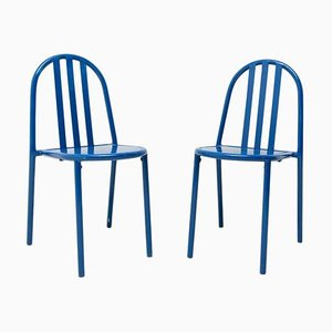 Bauhaus Model No.222 Chairs by Robert Mallet-Stevens, 1960s, Set of 2