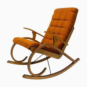 Bentwood Rocking Chair, Czechoslovakia, 1960s