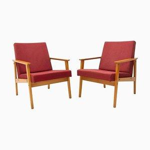 Armlehnstühle im Dänischen Stil von TON, 1960er, 2er Set