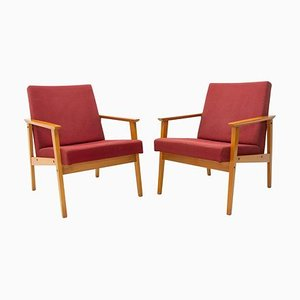 Danish Style Armchairs from TON, 1960s, Set of 2