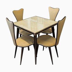 Italienisches Lounge Kaffeeservice von Umberto Mascagni, 1960er, 5er Set
