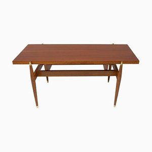 Rosewood Coffee Table, Czechoslovakia, 1970s