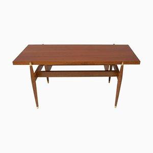 Rosewood Coffee Table, Czechoslovakia, 1970s