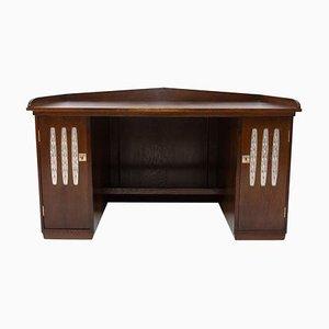 Wiener Secession Schreibtisch aus Eichenholz, 20. Jh