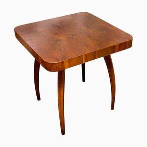 Spider Table H-259 in Oak by Jindřich Halabala for UP Závody, Czechoslovakia, 1950s