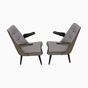 Lounge Armchairs, 1960s, Set of 2