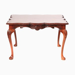 Freestanding Carved Mahogany Centre Table, 1910s