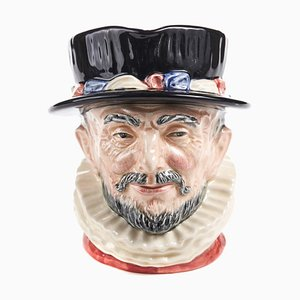 Vintage Character Beefeater Toby Jug by Royal Doulton