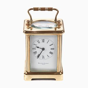 Antique Brass Carriage Clock, 1900s