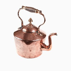Large Antique Georgian Copper Kettle