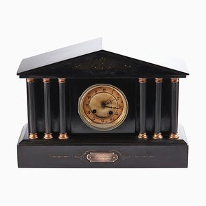 Antique Victorian 8 Day Marble Mantle Clock