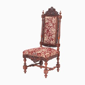 Victorian Carved Rosewood Side Chair