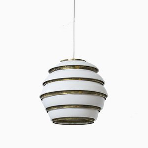 Beehive Ceiling Lamp by Alvar Aalto for Valaisinpaja OY, 1960s