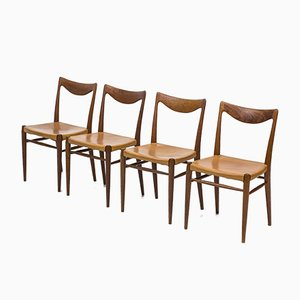 Bambi Dining Chairs by Rastad & Relling for Gustav Bahus, 1950s, Set of 4